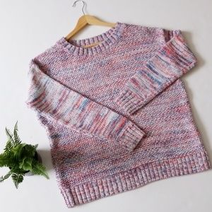 Gap marled crew neck sweater